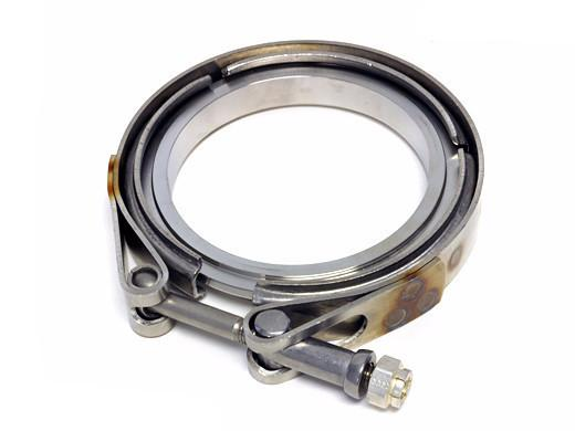 PRECISION TURBO V-BAND CLAMP - PRO MOD TURBINE HOUSING DISCHARGE | (071-1064) - JD Customs U.S.A