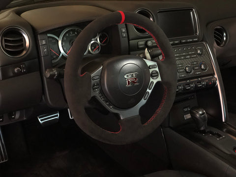 Auto Interior Technic Steering Wheel Wrap (2008-2016 Nissan GT-R) - JD Customs U.S.A