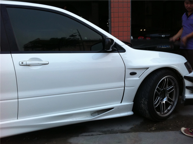 JDC Voltex Style Wide Body Fenders (Evo 7/8/9) - JD Customs U.S.A