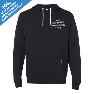 Anti Anti-Social Distancing Club Black Hooded Pullover