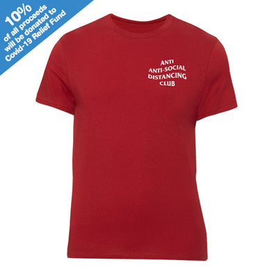 Anti Anti-Social Distancing Club Red T-Shirt