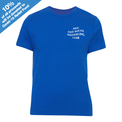 Anti Anti-Social Distancing Club Blue T-Shirt