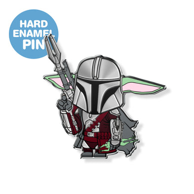 Mando Child Enamel Pin