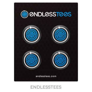 "EndlessTees 1.25"" Pinback Button 4-Pack"