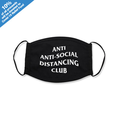 Anti Anti-Social Distancing Club Face Mask