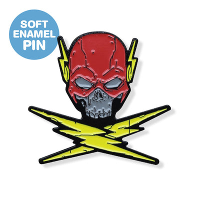 Speedster & Crossbones Enamel Pin