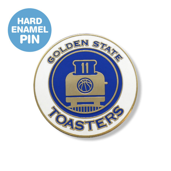 Golden State Toasters Enamel Pin