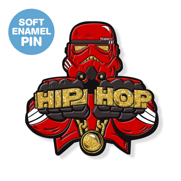 "Hip Hop Trooper ""Hip Hop"" DesignerCon Exclusive Enamel Pin 2019"