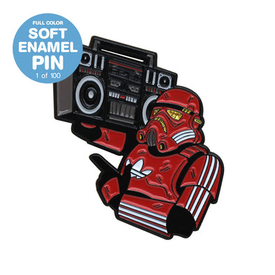 Hip Hop Trooper Dragon Con 2020 Pin Exclusive