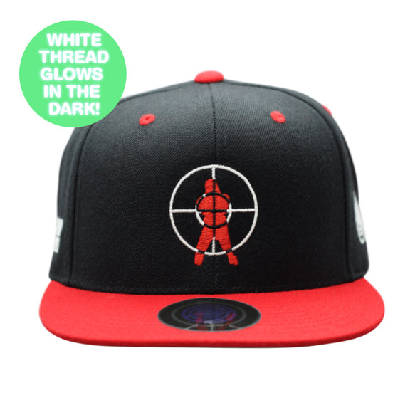"Hip Hop Trooper ""OG Logo"" Snapback Hat GLOW-IN-THE-DARK"