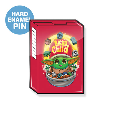 The Lucky Child Enamel Pin