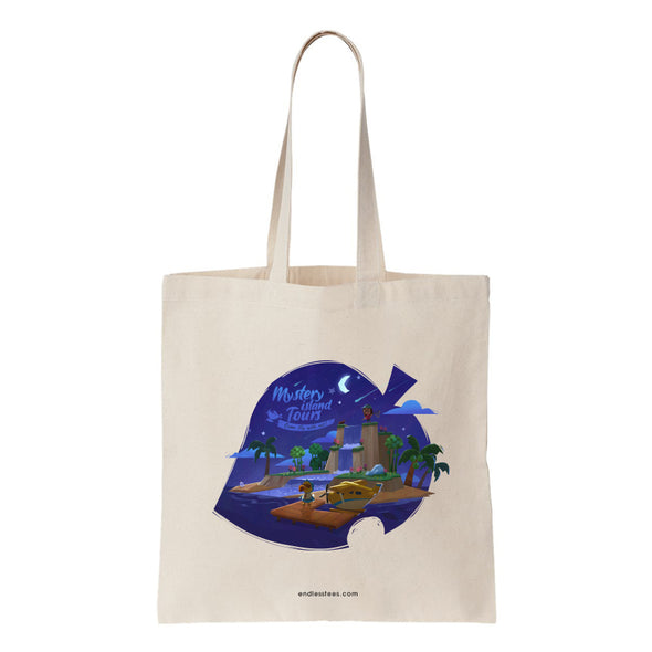 Mystery Island Tours Tote Bag