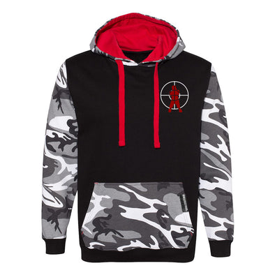 "Hip Hop Trooper ""OG Logo"" Fashion Camo Hooded Pullover"