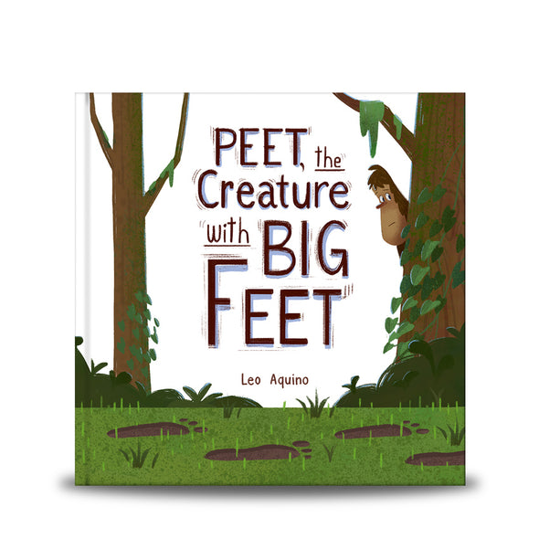 Peet, the Creature with Big Feet Book