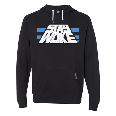 Stay Woke Black Hooded Pullover