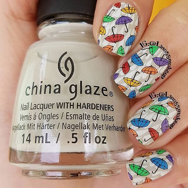4 Seasons - Autumn 01 - Lina Nail Art Supplies