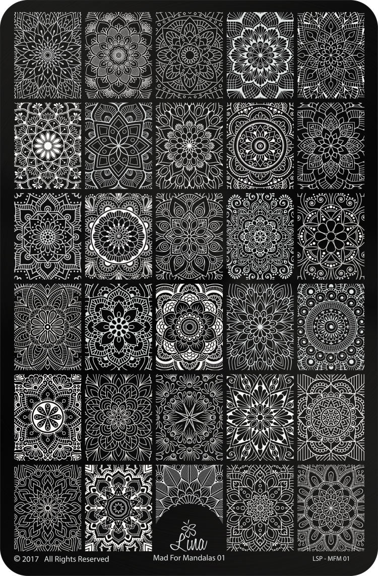 Mad For Mandalas 01