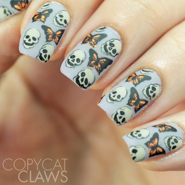 Spooklicious! 02 - Lina Nail Art Supplies