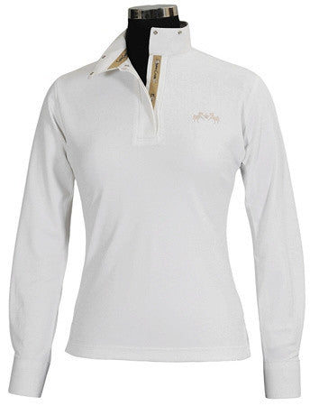 Equine Couture Ingate Long Sleeve Show Shirt