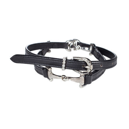 Horze Crescendo Crystal Bit Belt