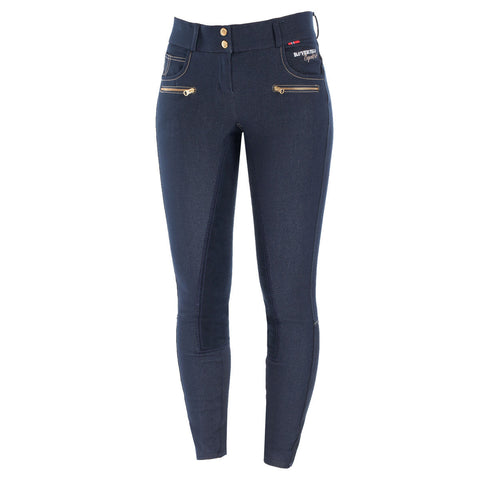 BVertigo Tracy Women's Denim Full Seat Breeches