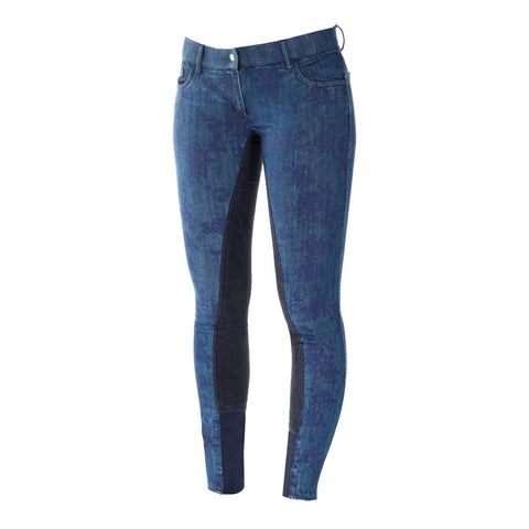 Horze Crescendo Penelope Women's Printed Denim Breeches