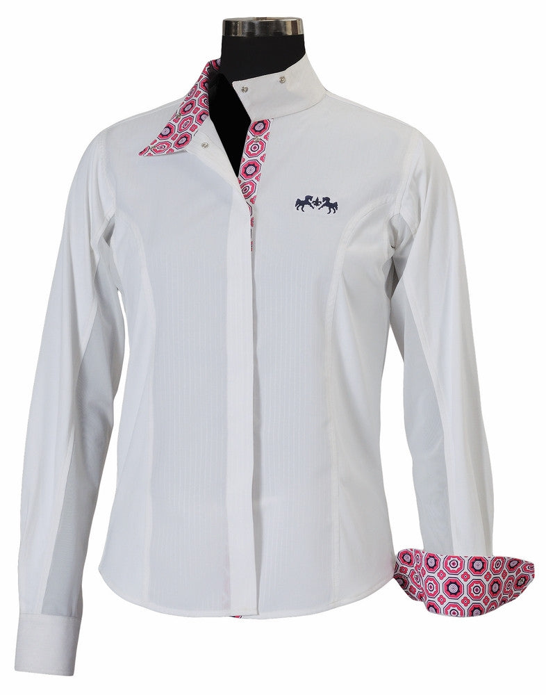 Equine Couture Kelsey Show Shirt Ladies Long Sleeve