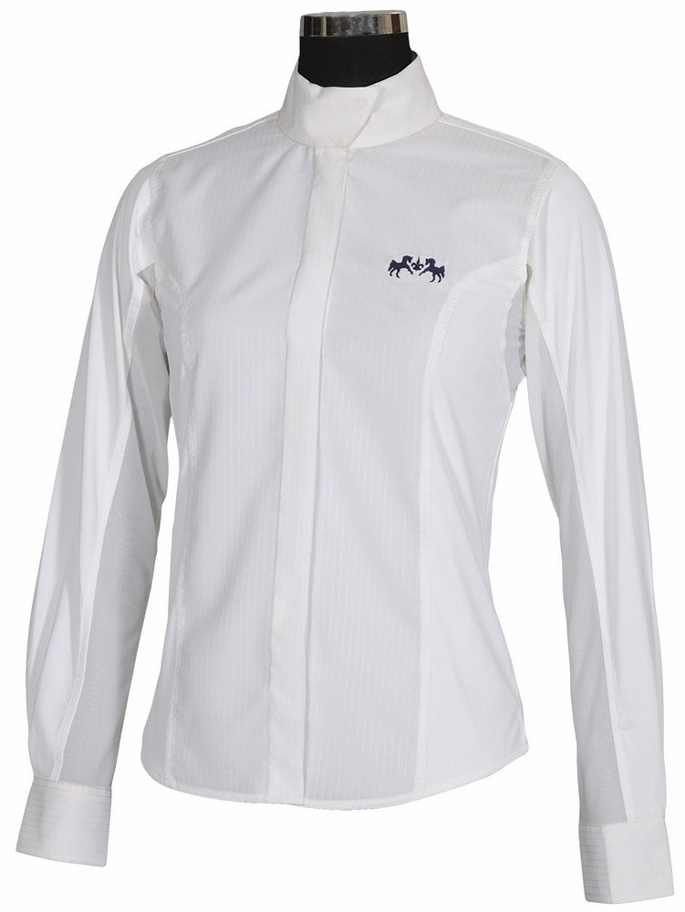 Equine Couture Cadet Show Shirt - Ladies,Long Sleeve