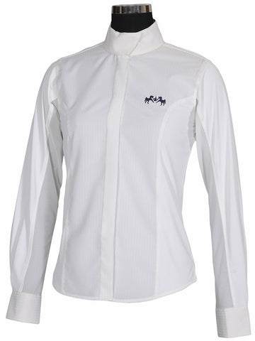 Equine Couture Cadet Ladies Long Sleeve Show Shirt