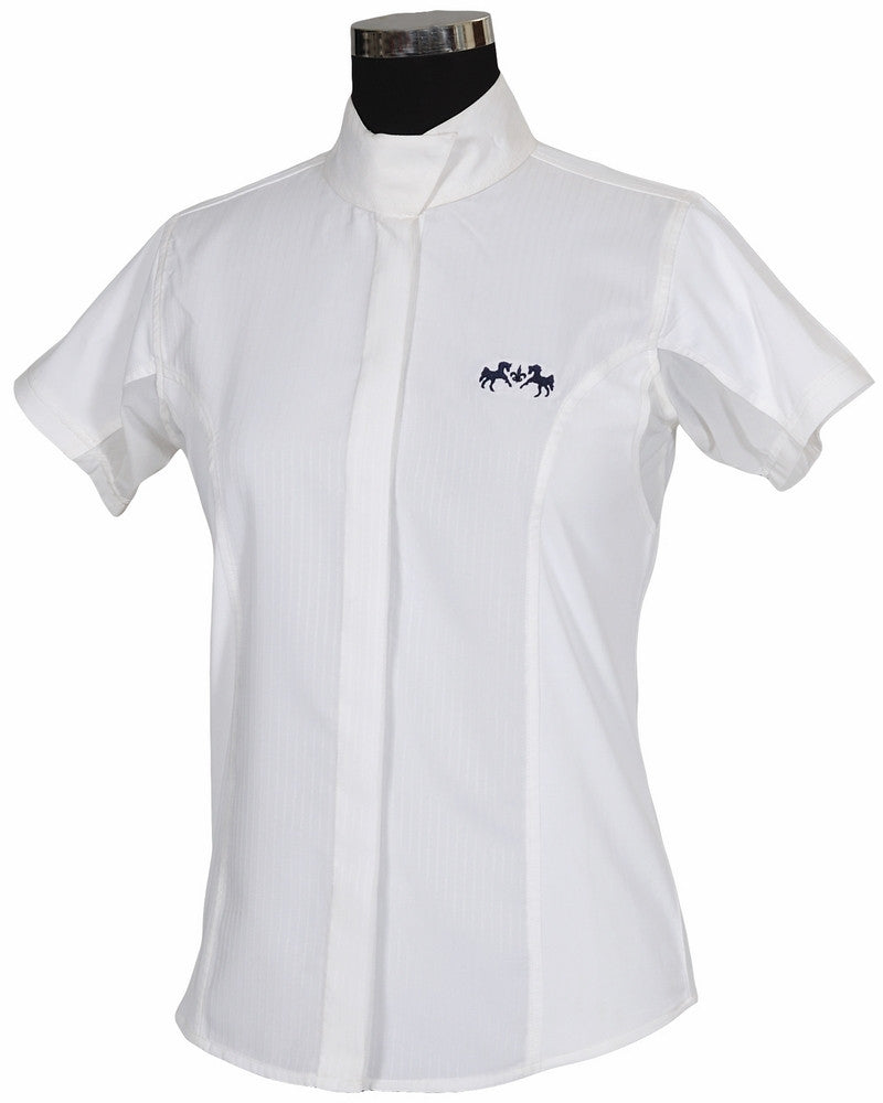 Equine Couture Cadet Show Shirt - Ladies,Short Sleeve