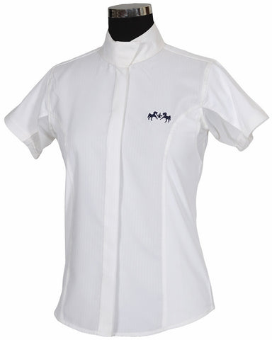 Equine Couture Cadet Ladies Short Sleeve Show Shirt