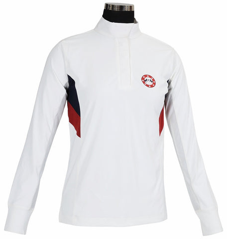 Equine Couture Ladies' Bostonian Long Sleeve Show Shirt