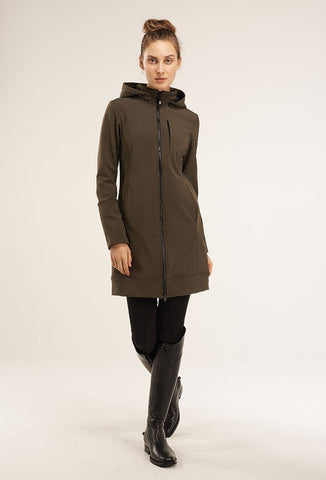 Asmar Ladies All Weather Rider Coat- Olive