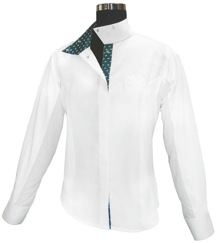 Equine Couture Ladies Hunter Long Sleeve Show Shirt