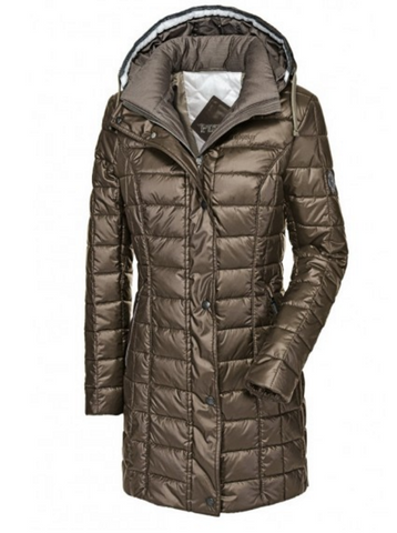 SAMARA SPORTY QUILTED LONG COAT