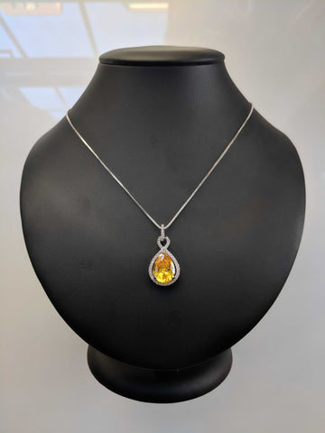 Lemon Twist - Necklace
