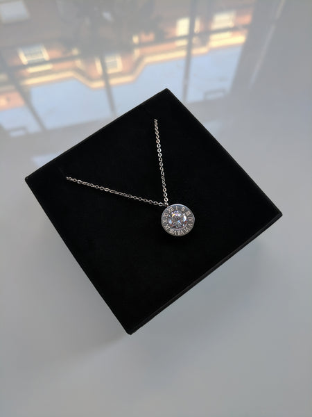 Empress Necklace Platinum Plated