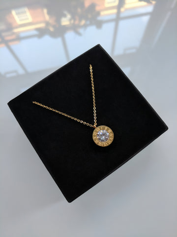 Empress Necklace Gold Plated