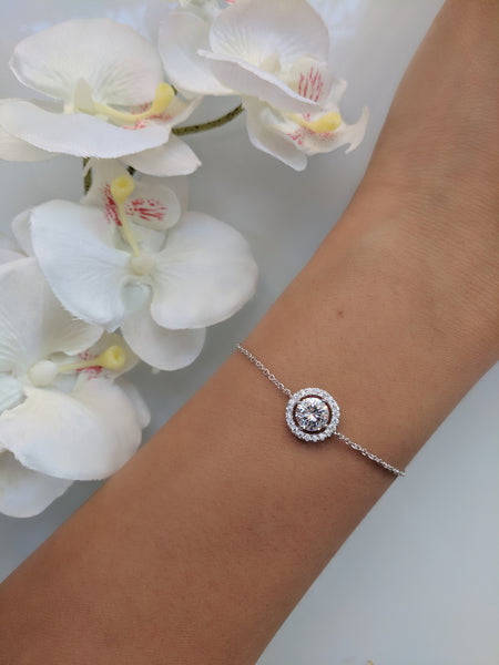 Baby Princess Platinum Plated Bracelet