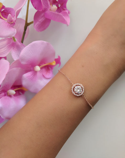 Baby Princess Rose Gold Plated Bracelet
