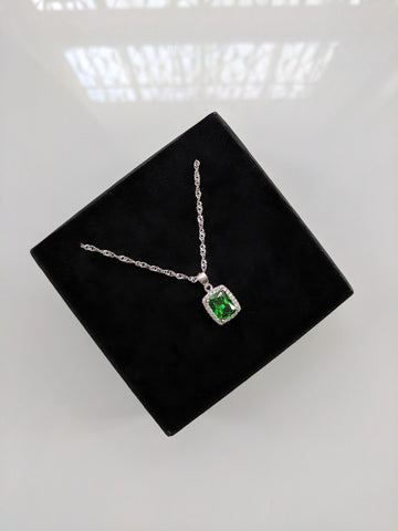 Emerald City Silver Colour Necklace
