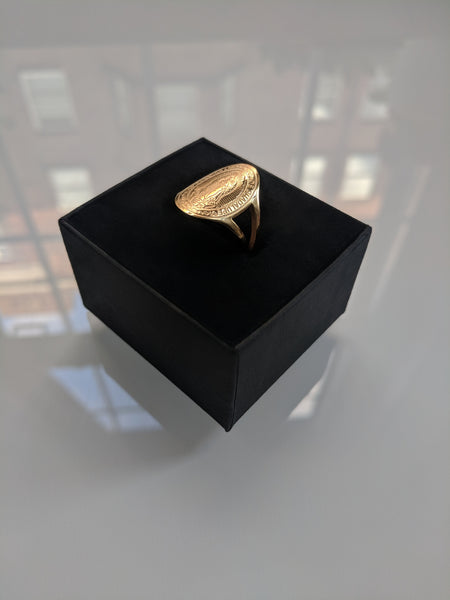 Mother Mary Gold Ring