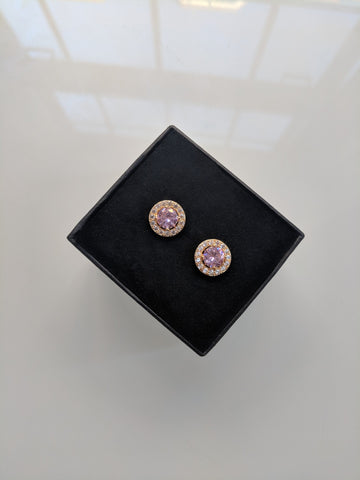 Candy Princess Gold Studs