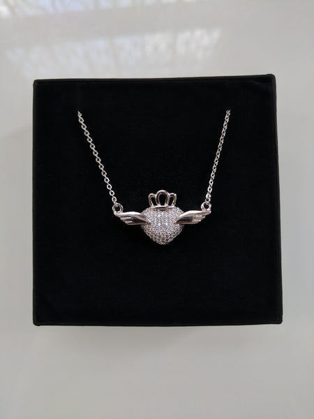 Love Bird Silver Necklace
