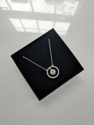 Angelic White Gold Plated Necklace