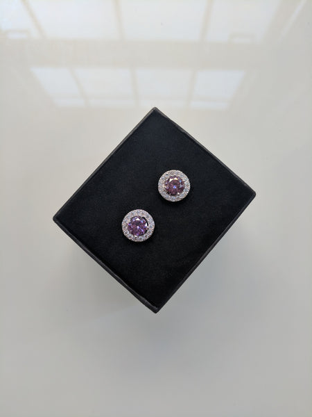 Purple Royal Studs