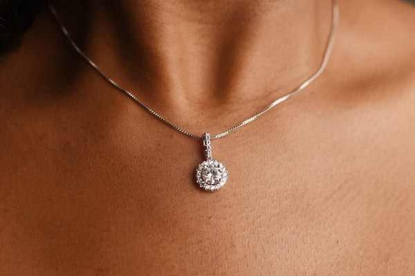 The Princess Silver Necklace