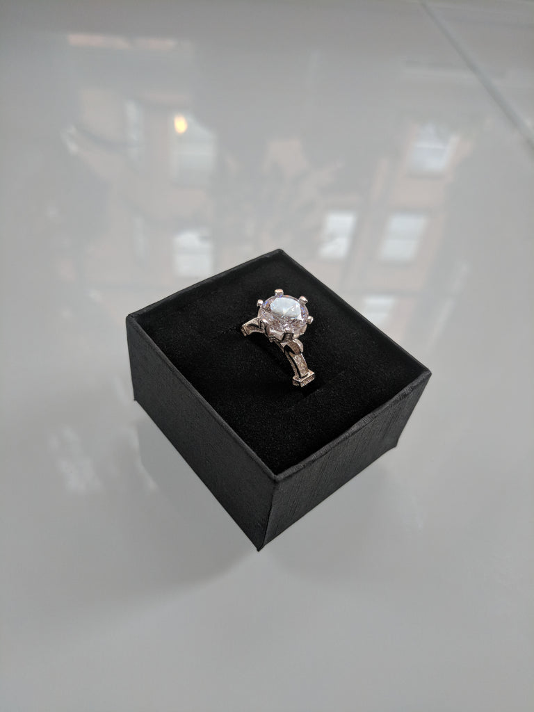 The Rose Sterling Silver Ring