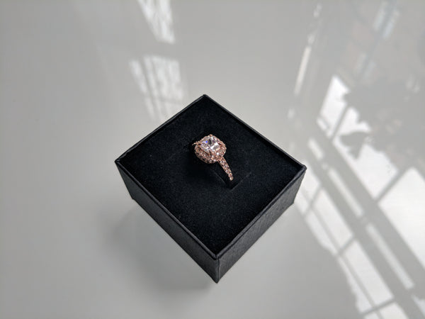 Mini Monroe Ring Rose Gold