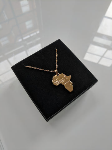 Mama Africa Gold Necklace